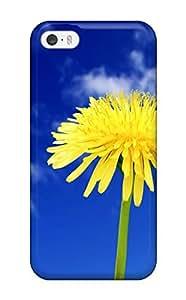 Leana Buky Zittlau's Shop 2279787K33469171 Case Cover, Fashionable Iphone 5/5s Case - Flower In Blue Sky