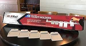 XLR Rail Ticket System - Complete 16 Holder XLR Rail Ticket System as seen at Fine Food Melbourne 2018