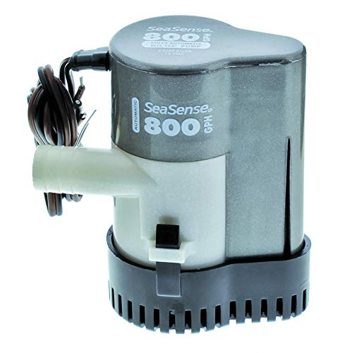 Seasense Bilge Pump - SeaSense 800 GPH Fully Automatic Bilge Pump