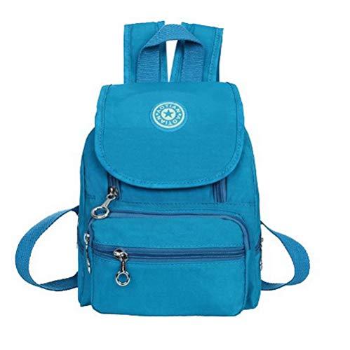 Zippers Femme Bleu Foncé de bandoulière Nylon Bleu fourre Sacs AgooLar GMBBA182372 Lac Tout à Mode Sacs AEHnHxfF