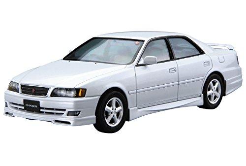 青島文化教材社 1/24 ザ・モデルカーシリーズ トヨタ JZX100 チェイサー ツアラーV 1998年 プラモデル No.16