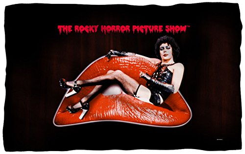 Rocky Horror Picture Show - Frank Lips Fleece Blanket 58 x 36in (Rocky Horror Picture Show Merchandise)