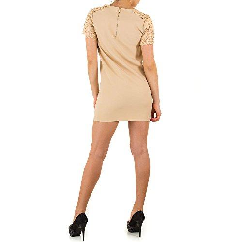 Ital-Design - Vestido - para mujer Beige - Cream