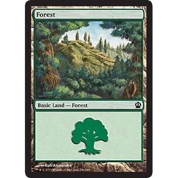 - Theros 246//249 Magic the Gathering MTG Basic Land 4 x Forest