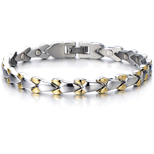 Fashion Bracelet Stainless Magnets Removal