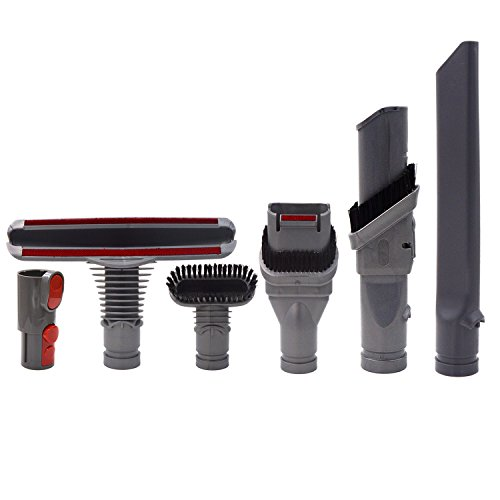 - Ninthseason Dyson v8 attachments Tools kit for Dyson V8 Absolute/V8 Animal/V10/V7 Absolute Cord-Free Vacuum Cleaner Parts Accessories Replacement