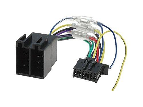 Pioneer DEH MVH FH ISO Autoradio Adapter: Amazon.de: Elektronik