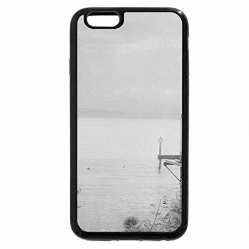 iPhone 6S Plus Case, iPhone 6 Plus Case (Black & White) - A fifteen minute walk