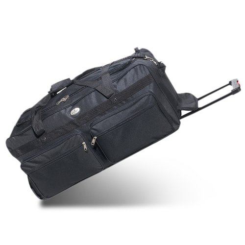Everest 36-Inch Deluxe Wheeled Duffel Color: Black