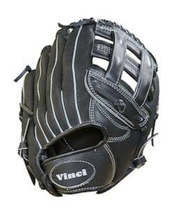 Vinci Softball Gloves - Vinci Youth Baseball Glove BRV1950 CP Junior 12 Inch (Right Handed Thrower)