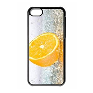 VNCASE Orange Phone Case For Iphone 5C [Pattern-1]