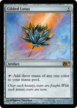 Buy magic: the gathering gilded lotus 206 magic 2013