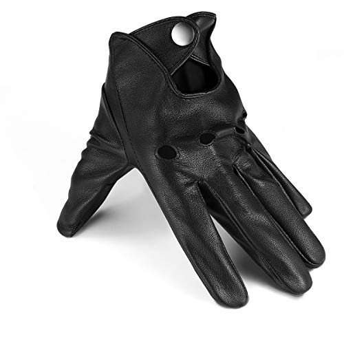 Black Driving Gloves - Driving Gloves Thin Black Leather Gloves Mens Driving Gloves Touchscreen Outdoor Sports
