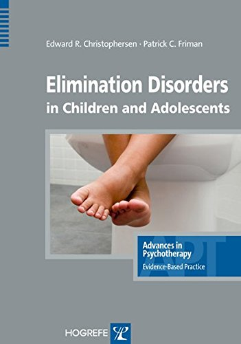 Elimination Disorders in Children and Adolescents, in the...