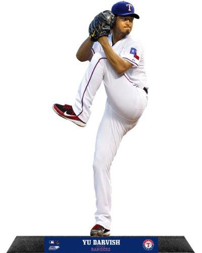 Yu Darvish Texas Rangers StandZ® Action Photo Desktop Display