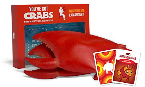 Exploding Kittens You've Got Crabs: Imitation Crab Expansion Kit