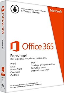 Office 365 Personal 1 Year Subscription - French (B00JFQ9Q8C) | Amazon Products