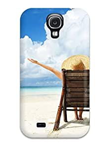 Special Design Back Vocation Vacation Beach Phone Case Cover For Galaxy S4