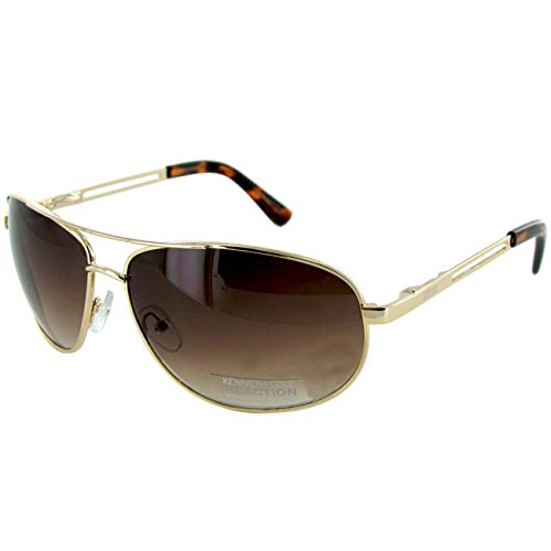 Sunglasses Cole Aviator Kc1069 Kenneth Brown Reaction Gold Yqp6g