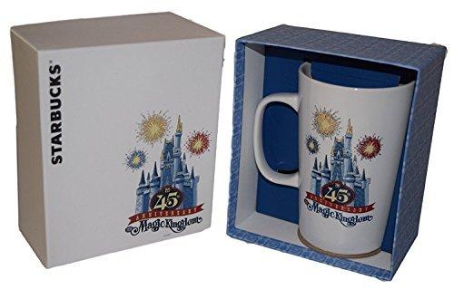 Starbucks Disney Magic Kingdom 45th Anniversary Limited Edition Mug Cinderella Castle Magic Kingdom