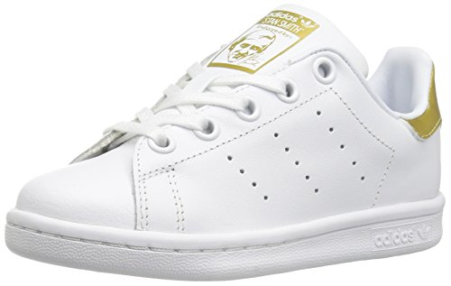 competitive price b9822 ff9d3 adidas Originals Boys  Stan Smith C Sneaker, White White Metallic Gold, 13  M US Little Kid - Buy Online in UAE.   Apparel Products in the UAE - See  Prices, ...
