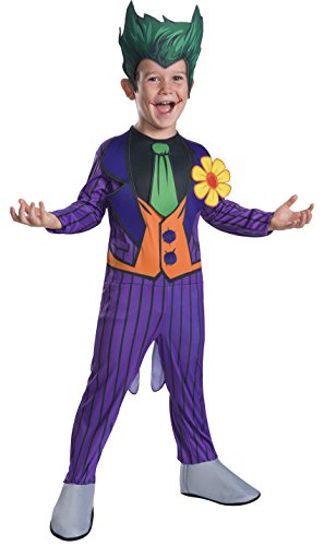 Rubie's Costume Boys DC Comics The Joker Costume, Medium, Multicolor - The Joker Costume Classic