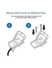 Anclaje para cable de montaje en escritorio Kensington K64613WW   Anclaje para cable   1 paquete WLM, gris