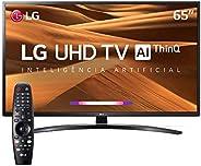 TV 65 Polegadas LG LED Smart Wifi 4k Usb HDMI Comando Voz 65um7470psa.awz