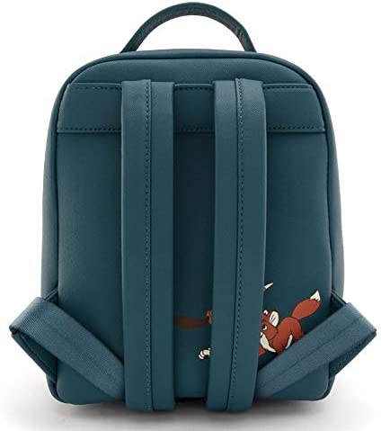 Loungefly Disney Fox and the Hound Water Fight Mini Backpack