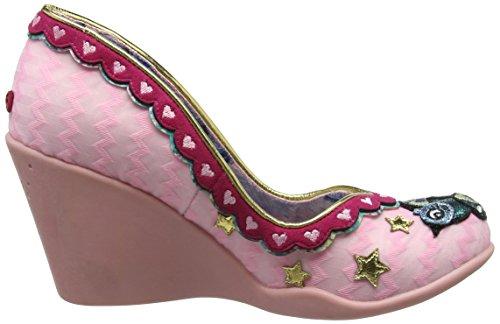 Damen Scelta Irregolari Amano Pompe Nido Rosa (rosa)