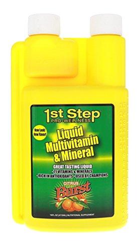 1ère étape pour énergie liquide multivitamines