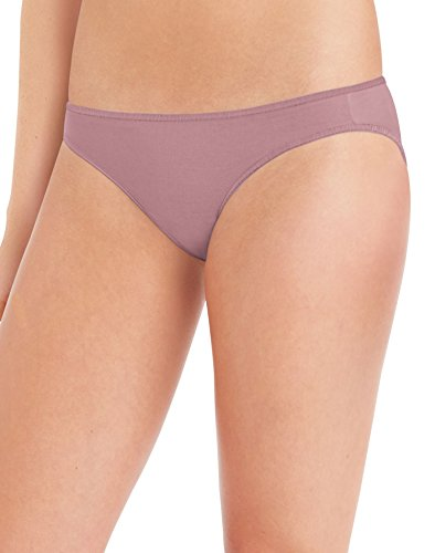 Hanes Women's 8 Pack Microfiber Bikini, Assorted, 7