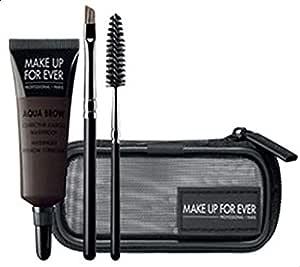 Make Up For Ever Aqua Brow Kit Eyebrow Color and Shaping - 0.23 oz, 30 Dark Brown