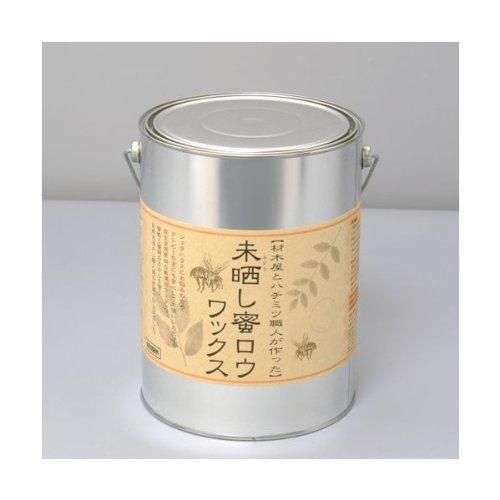 未晒し蜜蝋ワックス 4L タイプ:Aタイプ(バターの様な固さ) B00BBOFD88