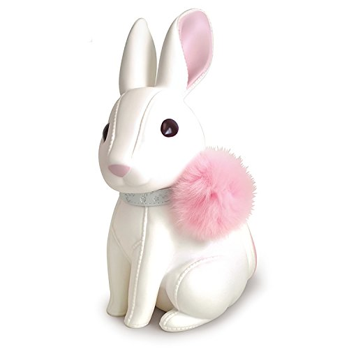 (Cute Rabbit Piggy Bank, White Rabbit Bank Toy Coin Bank Decorative Saving Bank Money Bank Adorable Rabbit Figurine for Boy Girl Baby Kid Child Adult Rabbit Lover by)