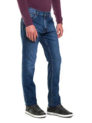 Carrera Vaqueros Hombre Relaxed para Medium Blue Jeans rArwgqTPO