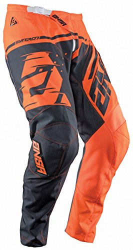 Answer Racing A18 Syncron Youth Boys Off-Road Motorcycle Pants - Orange/Grey / Size 26