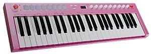 CME U-Key pink 6937436600631 - Teclado MIDI (conector tipo USB a MIDI), color rosa