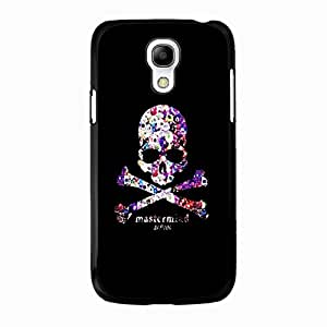 Samsung Galaxy S4 Mini Cover Case,Handsome Cool Skull Phone Case fit for Samsung Galaxy S4 Mini TPU&PC Case(Online)