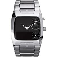 Nixon The Banks Black Stainless Steel Mens Watch A060-000