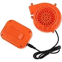 Mini Fan - TOOGOO(R) Mini Fan Blower for Mascot Head Inflatable Costume 6V Powered 4xAA Dry Battery Orange