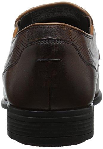 Hush Puppies Carter Maddow - Zapatos sin cordones de cuero hombre marrón - Brown (Brown Leather)