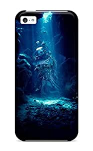 Defender Case For Iphone 5c, Cave Abstract Pattern
