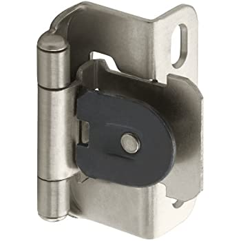 Amerock Bp8700 G10 Double Demountable Hinge 3 8 Inch Inset