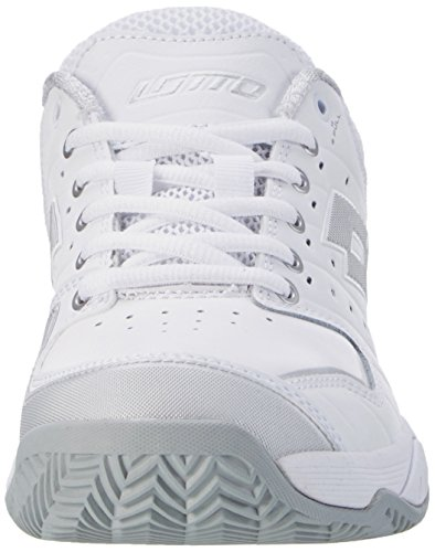 White Chaussures de Blanc Sport Femme Mt Tennis LTH Lotto Metal Silver Slv Cly Wht Raptor W X7RxYz