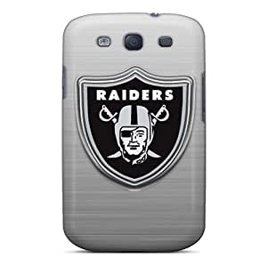 Best Hard Cell-phone Cases For Samsung Galaxy S3 (xfw2398LxpL) Support Personal Customs HD Oakland Raiders Skin