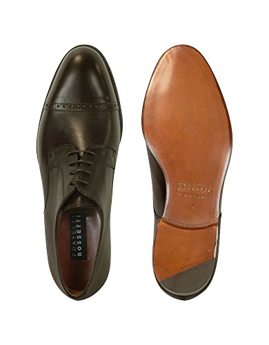 FRATELLI ROSSETTI HOMME 2158288322M MARRON CUIR CHAUSSURES À LACETS