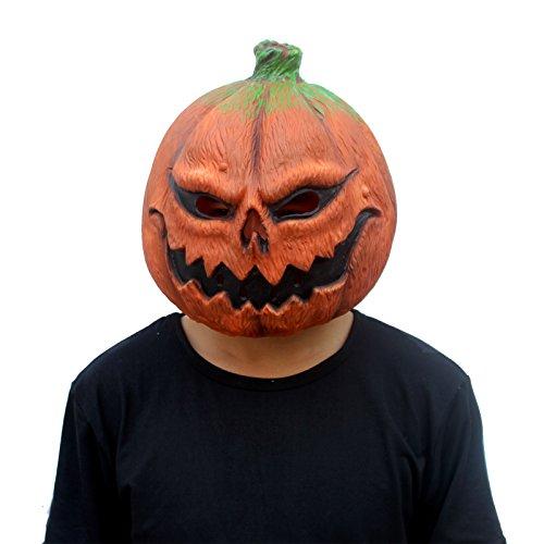 CreepyParty deluxes Neuheithalloween Kost¨¹m Partei Gem¨¹selatex K¨¹rbiskopfschablone