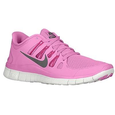 Nike The Womens Free 5.0+ Running Shoe Red Violet/Bright Magenta/Summit White/Iron Ore