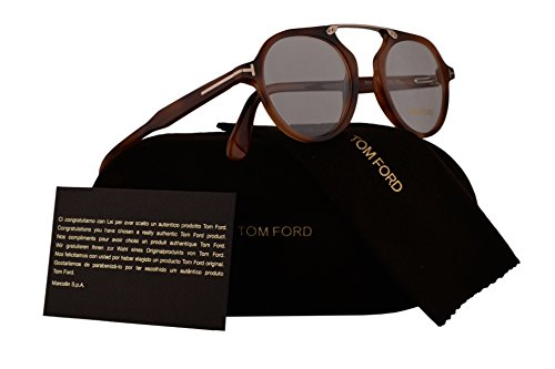 Tom Ford FT5494 Eyeglasses 47-21-145 Havana w/Demo Clear Lens 053 TF5494 FT 5494 TF - Ford Tom Sale